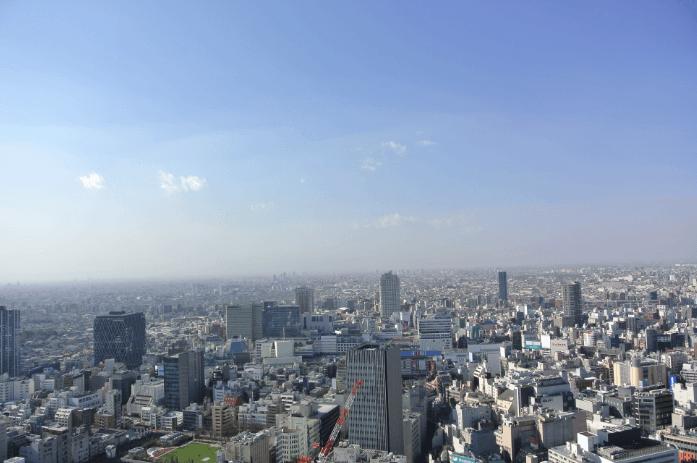 アウルタワーの眺望
