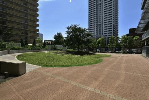 パークハウス清澄白河タワーの庭園