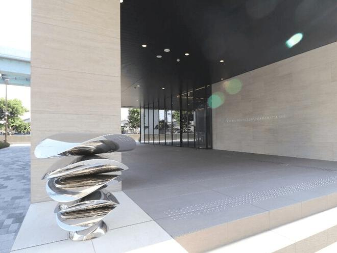 ローレルタワー ルネ浜松町のエントランス