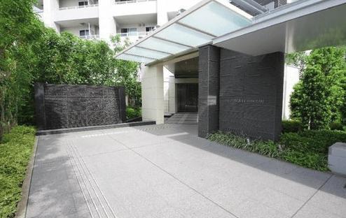 パークタワー新川崎のエントランス