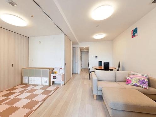 パークシティ武蔵小杉ザ・グランドウイングタワーの室内