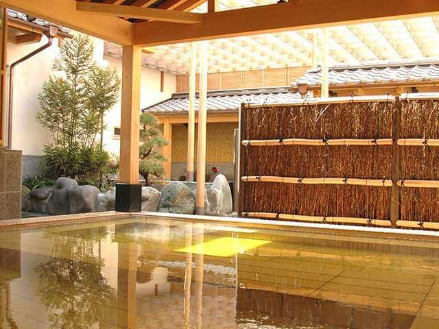 東京染井温泉Sakuraの露天風呂