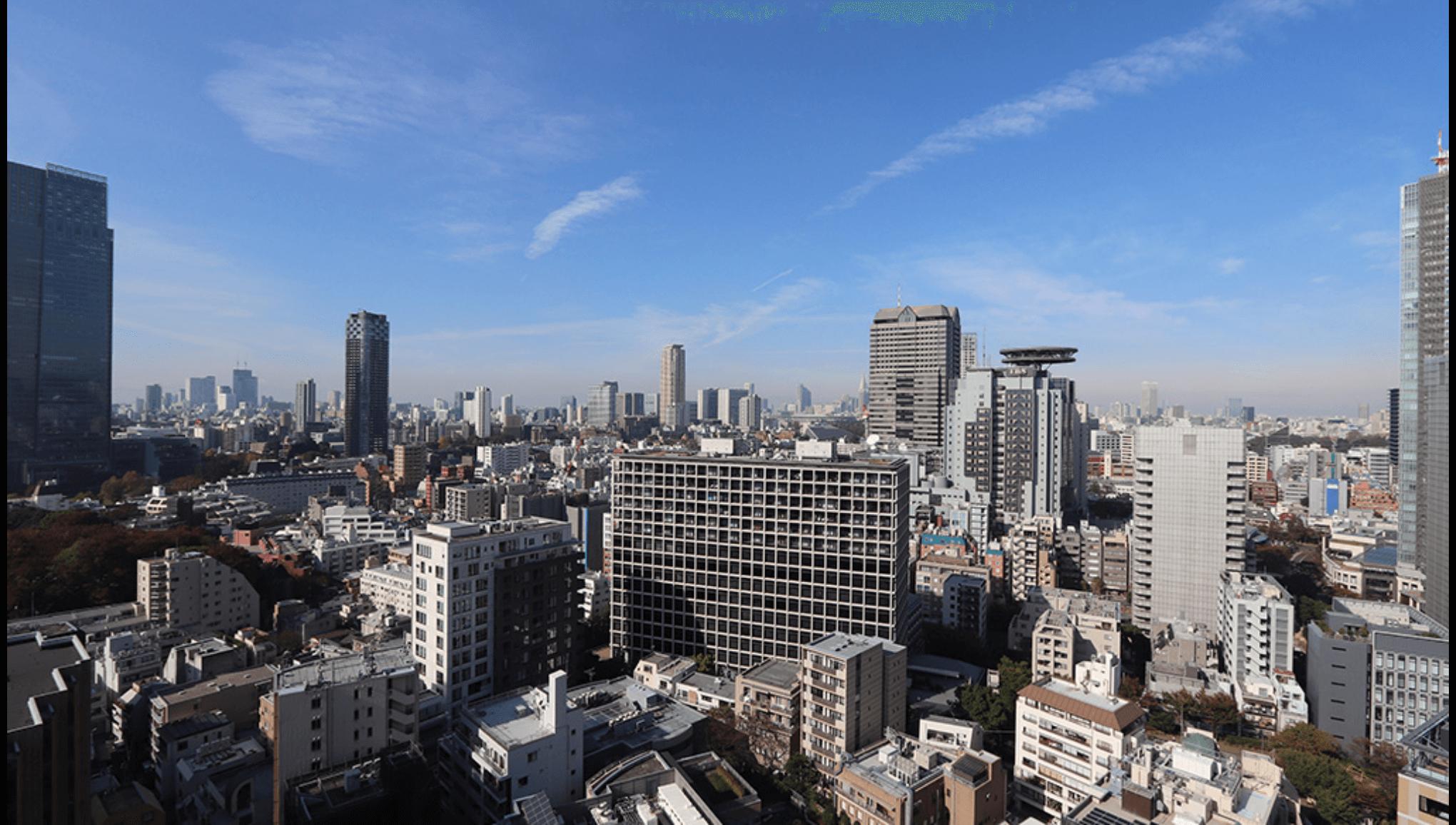 赤坂タワーレジデンスからの眺望