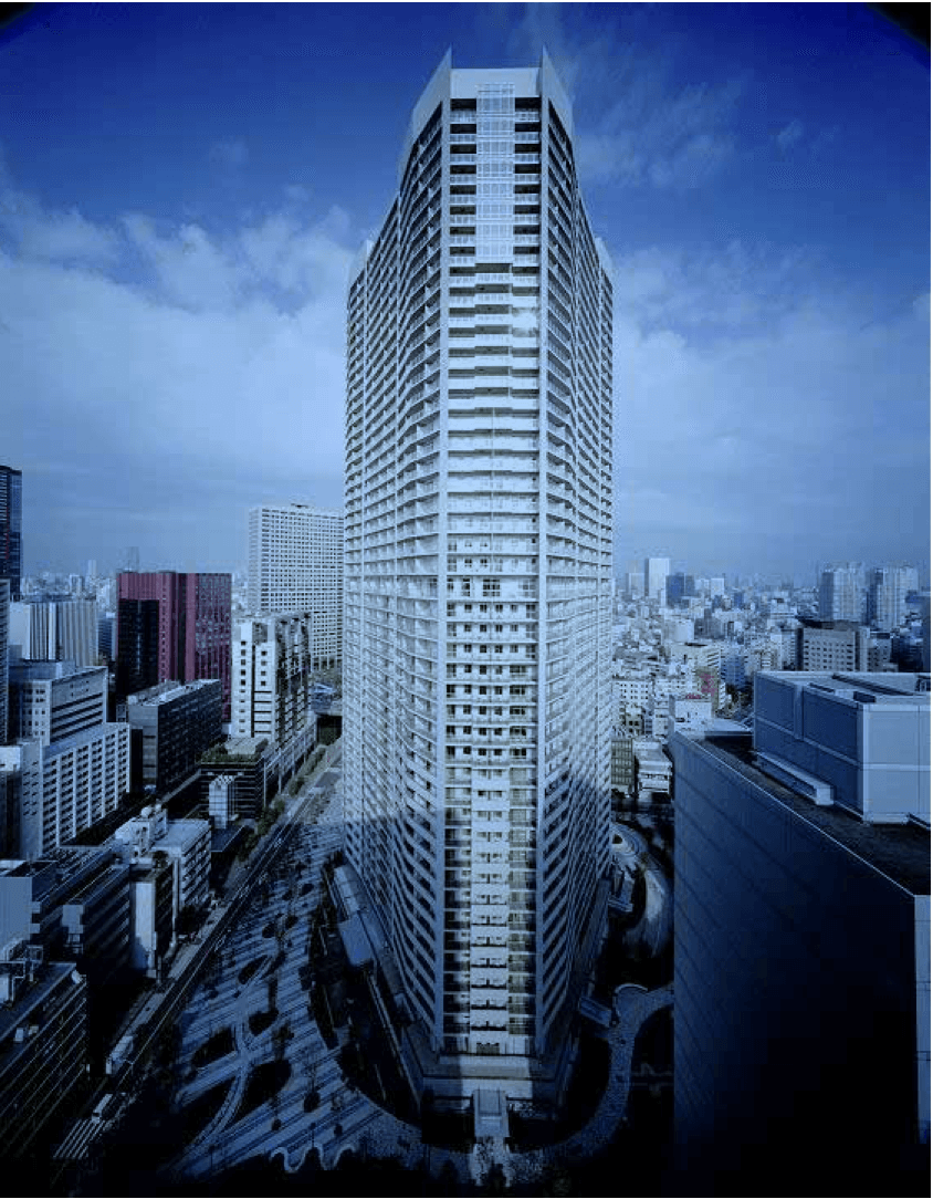 キャピタルマークタワーの外観