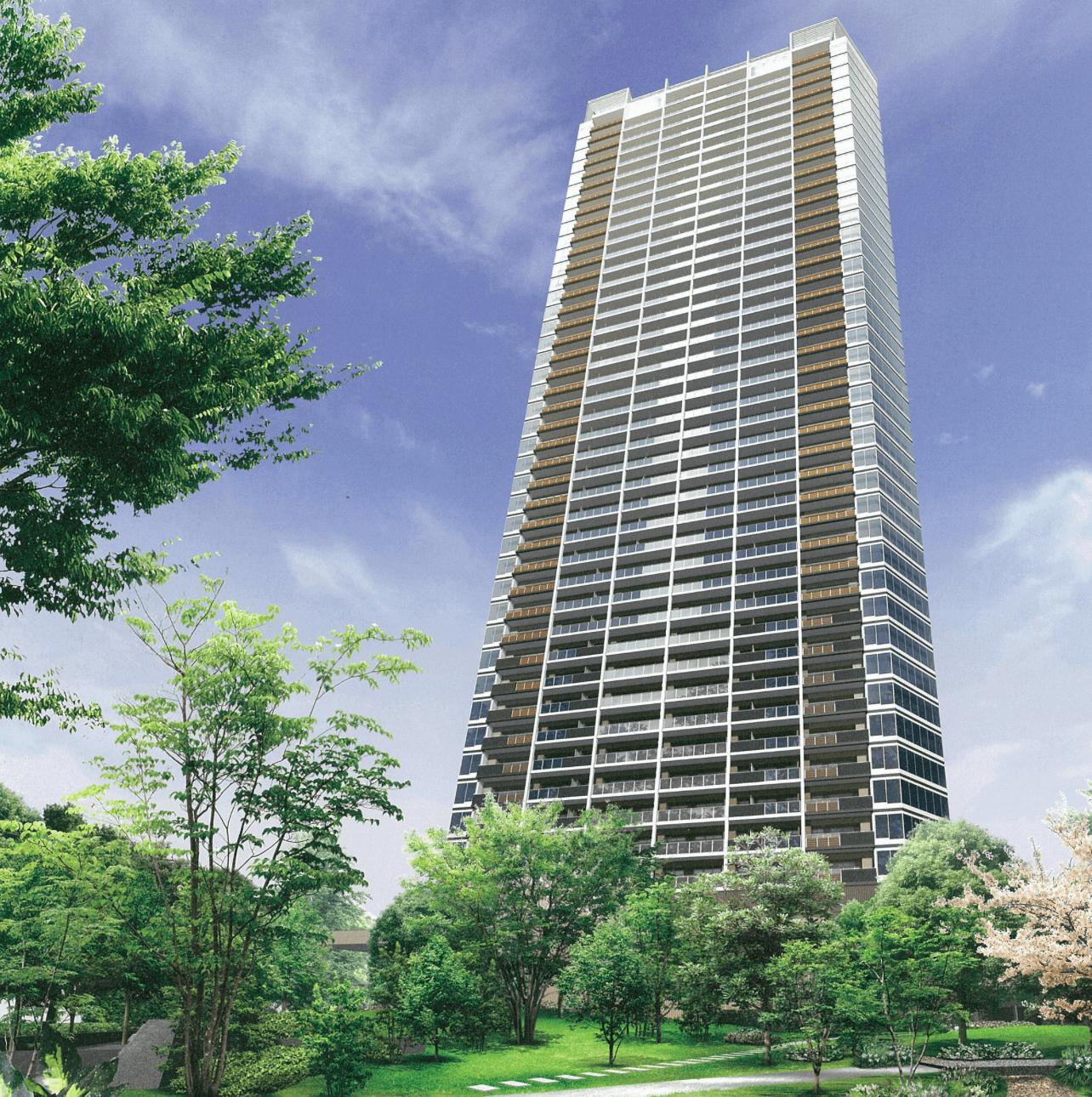 豊洲タワーの外観
