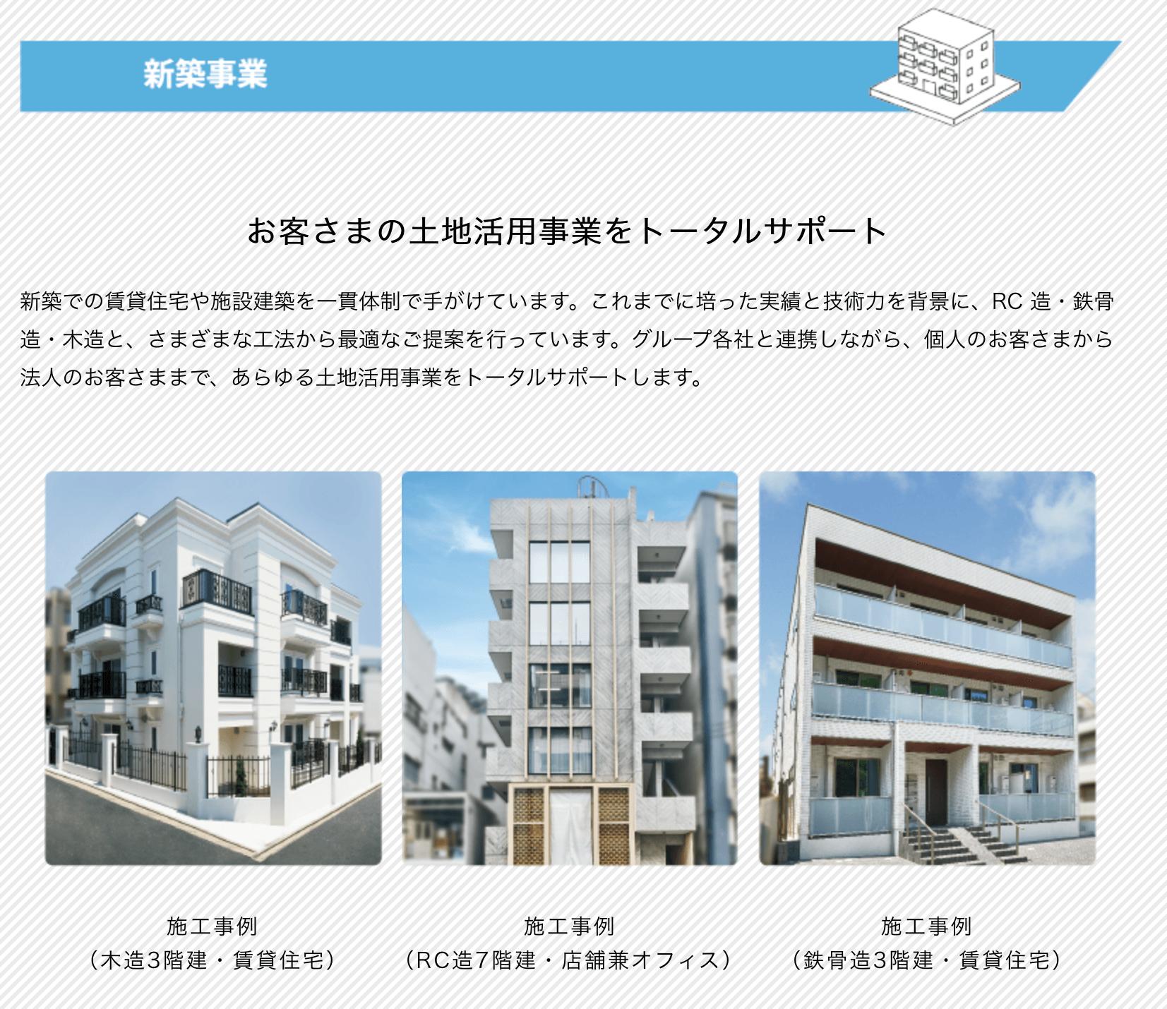 東急グループの6面体ボックス構造