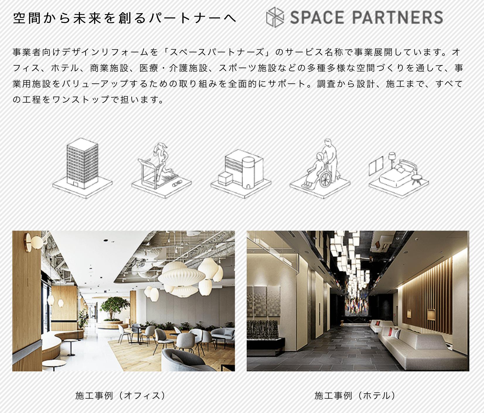 東急グループのSPACE PARTNERS