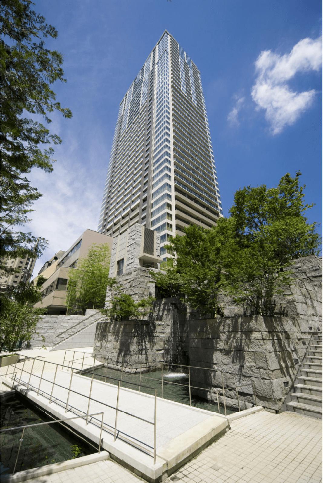 赤坂タワーレジデンスの外観