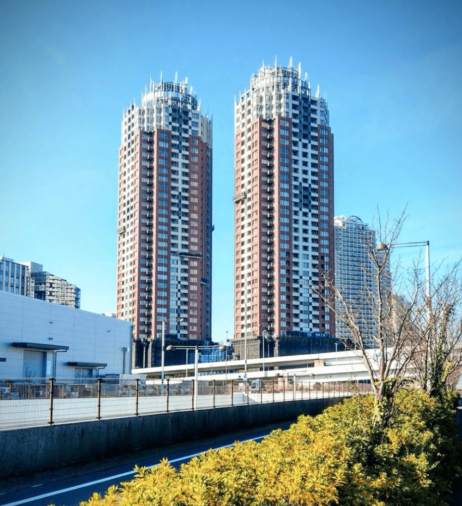 ザ・タワーズ台場の外観