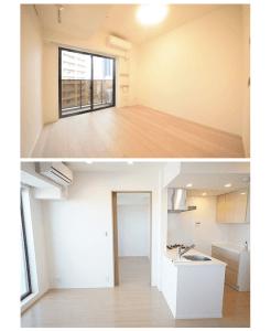 パークキューブ西新宿の室内