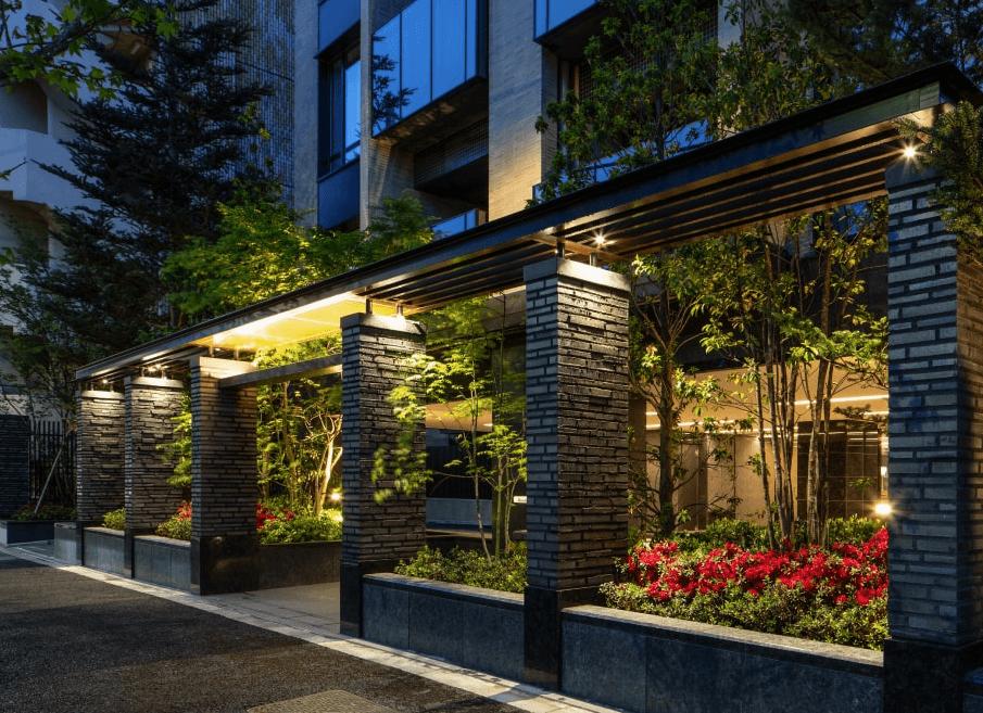 ザ・パークハウス麻布外苑西通りのエントランス