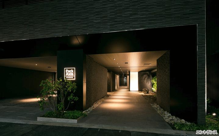 パークアクシス日本橋本町のエントランス