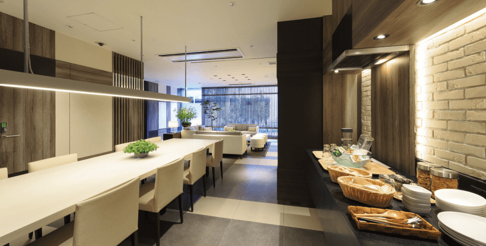 パークアクシス月島マチュアスタイルのオープンキッチン
