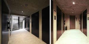 ラ・レイナ市谷加賀町の内廊下
