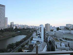 アクティブタワー市谷の眺望