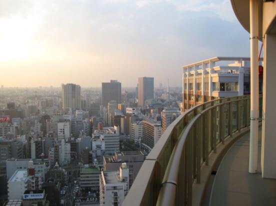 ル・サンク大崎シティタワーの眺望