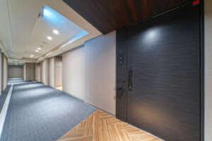 プラウド新宿牛込町の内廊下